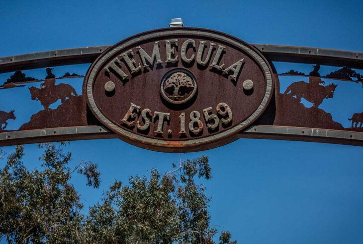 Old Town Temecula Sign