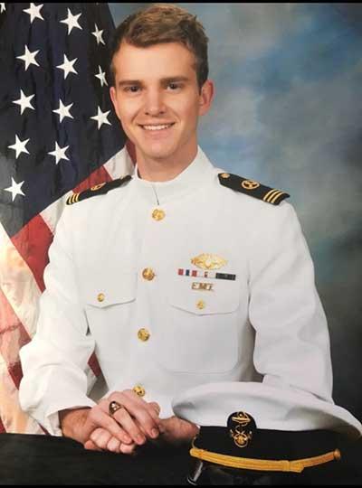 Headshot of military student