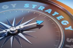Compass with word Strategy